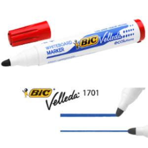 MARCATORE P.TONDA 1.5MM ROSSO Whiteboard VELLEDA® 1701 Recycled BIC®