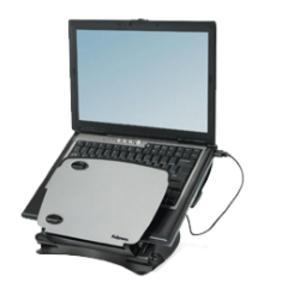 SUPPORTO NOTEBOOK CON HUB USB E LEGGIO