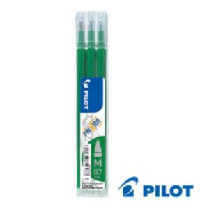 SET 3 REFILL SFERA FRIXIONball 0.7mm VERDE PILOT