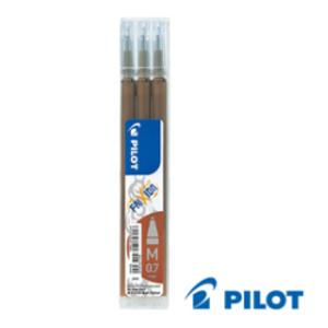 SET 3 REFILL SFERA FRIXIONball 0.7mm MARRONE PILOT