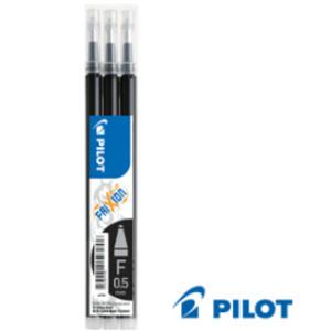SET 3 REFILL SFERA FRIXIONball CLICKER 0.5mm NERO PILOT