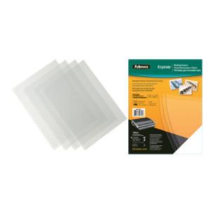 100 COPERTINE CLEAR PVC 200MIC A4 TRASPARENTE NEUTRO