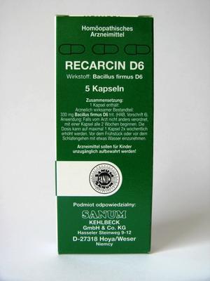 SANUM RECARCIN D6 Capsule