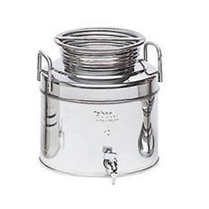 Contenitori fusto acciaio inox per olio ed alimenti lt 5