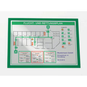 CORNICE MAGNETICA DURAFRAME A3 - 29,7X42CM VERDE DURABLE