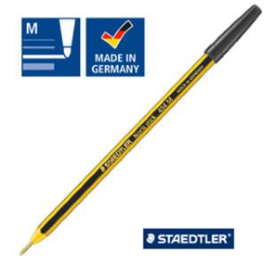 Scatola 20 penna a sfera 434 Noris Stick nero 1,0mm STAEDTLER