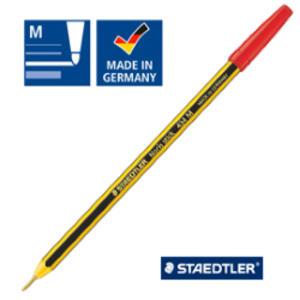 Scatola 20 penna a sfera 434 Noris Stick rosso 1,0mm STAEDTLER