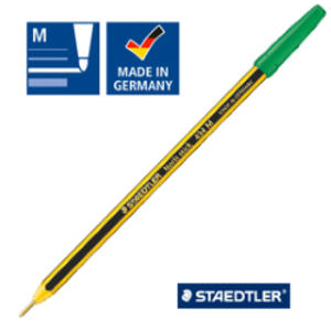Scatola 20 penna a sfera 434 Noris Stick verde 1,0mm STAEDTLER