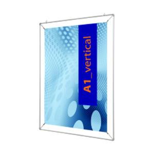 CORNICE CON PINZE x F.to 50x70cm POSTER STRETCH