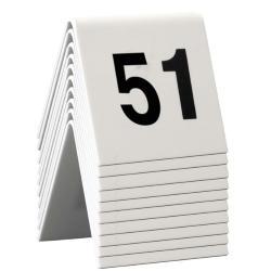 SET da 51 a 60 NUMERI PER I TAVOLI Securit
