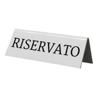 SET 5 'RISERVATO' PER I TAVOLI Securit