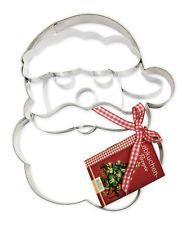 Stampo biscotto Babbo Natale gigante in acciaio