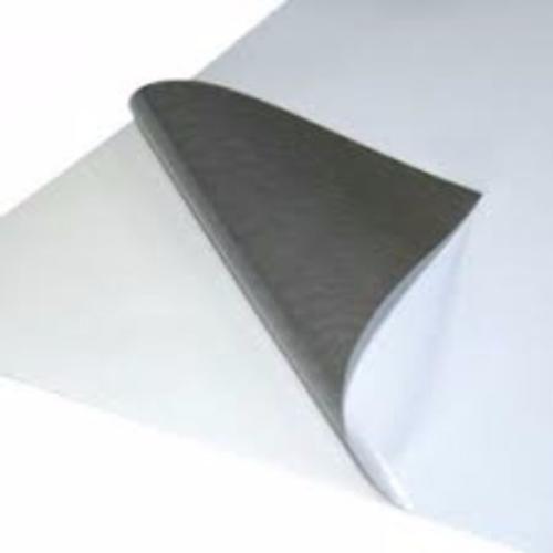 Vinile adesivo polimerico lucido retro grigio