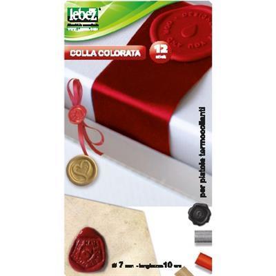 COLLA A CALDO 7 MM ROSSO/NERO