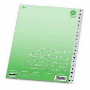 INTERCALARE A-Z PP