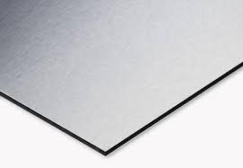 Alluminio spazzolato 70x50