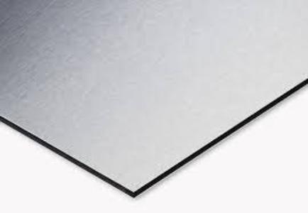 Alluminio spazzolato 140x100