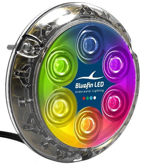 Led Subacqueo Piranha P6 a Variazione di Colore di Bluefin LED - Offerta di Mondo Nautica 24