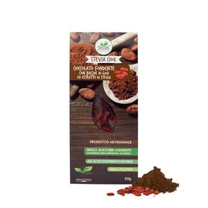 Cioccolato fondente con la stevia : Stevia Ciok - Bacche di Goji