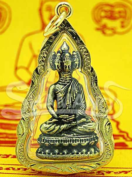 Amuleto Thailandese Budda 9 Facce