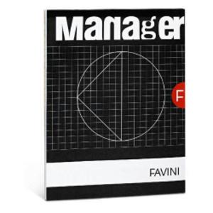 BLOCCO MANAGER 210x297cm 10mm 90FG 82GR FAVINI