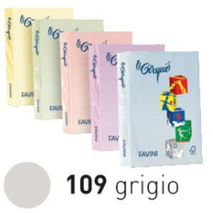 Carta LECIRQUE A4 80gr 500fg grigio pastello 109 FAVINI