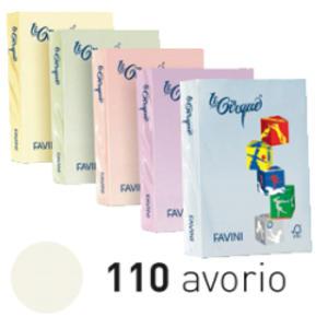 Carta LECIRQUE A4 80gr 500fg avorio pastello 110 FAVINI