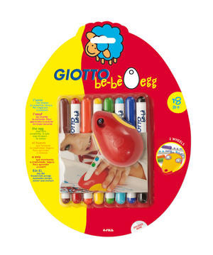 GIOTTO BEBE' MOUSE EGG CON 8 PENNARELLI - IDEA REGALO