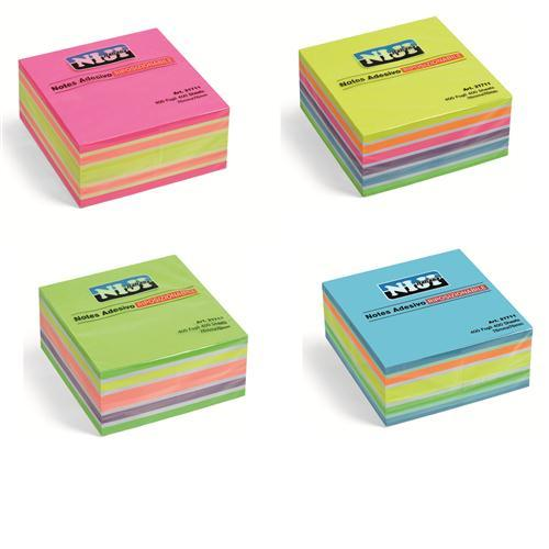 CUBO TIPO POST-IT  76X76 MM. ASSORTITI