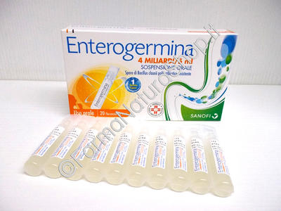 ENTEROGERMINA 4 miliardi / 5 ml sospensione orale