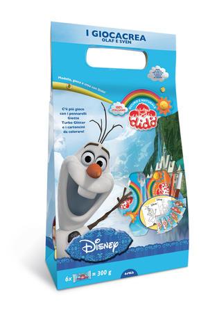 Didò Giocacrea Olaf e Sven Disney