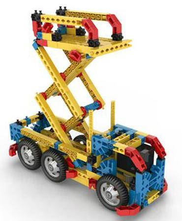 Set Costruzioni Inventor Pro 80 Modelli Motorizzati di Engino