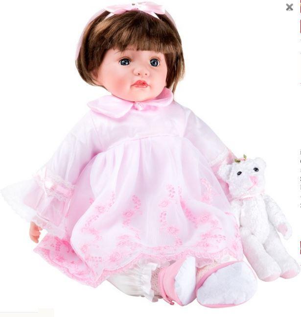 """Bambola per Bambine """"Julia"""" di Legler Offerta di Natale"""