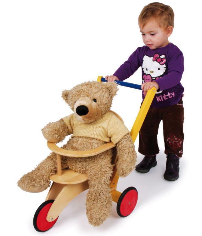 """Triciclo per Bambole e Peluches """"Buggy"""" della Legler Offerta di Natale"""