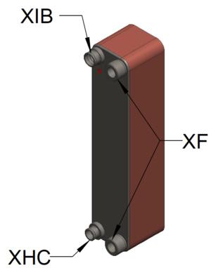 Kelvion Échangeur de chaleur model GBS525M-40