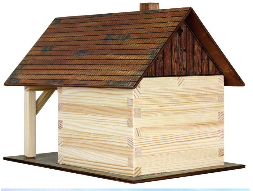 Costruzioni in Legno Naturale La Forgia di Walachia Kit da 86 Pezzi Offerta di Natale