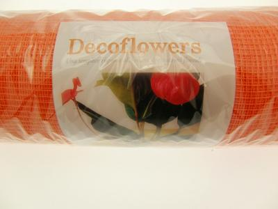 RETE DECOFLOWERS ARANCIO