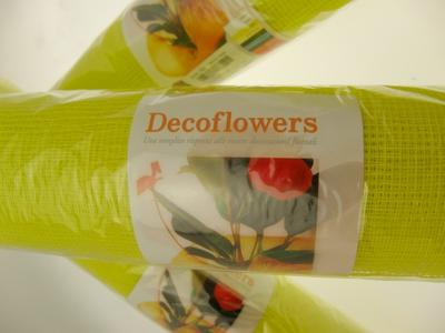 RETE DECOFLOWERS GIALLO