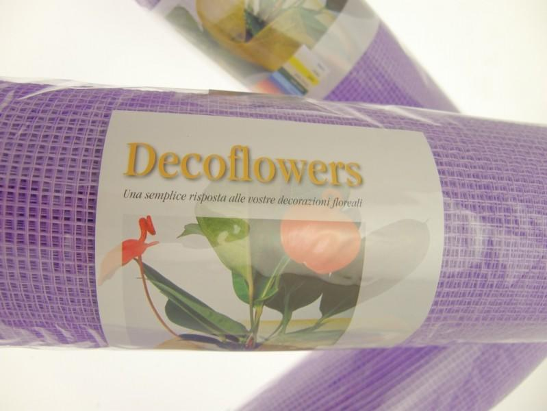 RETE DECOFLOWERS LILLA