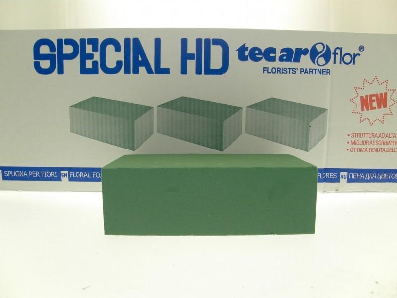 SPUGNA PER FIORI IDRO SPECIAL HD 23 X 11 - 1 CARTONE DA 35 PEZZI