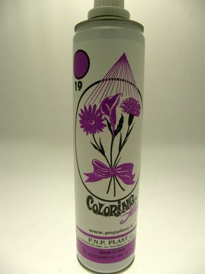 SPRAY COLORANTE PER FIORI - VIOLETTO 19