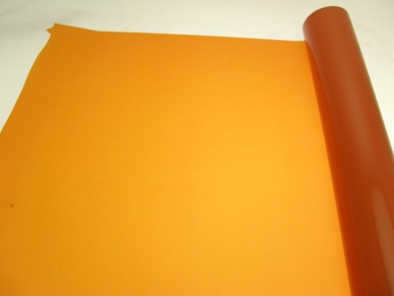 BOBINA CARTA ARANCIO DECORATIVA CM 100 X 50 MT