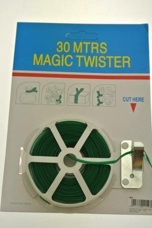 FILO IN PVC - PIATTINA MAGIC TWIST - 30 MT