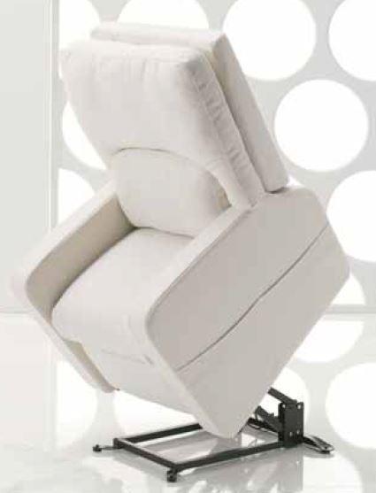 Poltrona Relax Elettrica con 2 Motori e Alzapersona Sfoderabile  Mod. Paola Iva Agevolata 4% Prodotto Italiano