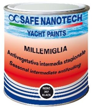 Antivegetativa LT. 0.75 Autopulente Millemiglia Evo Colori a Scelta di Safe Nanotech - Offerta di Mondo Nautica 24