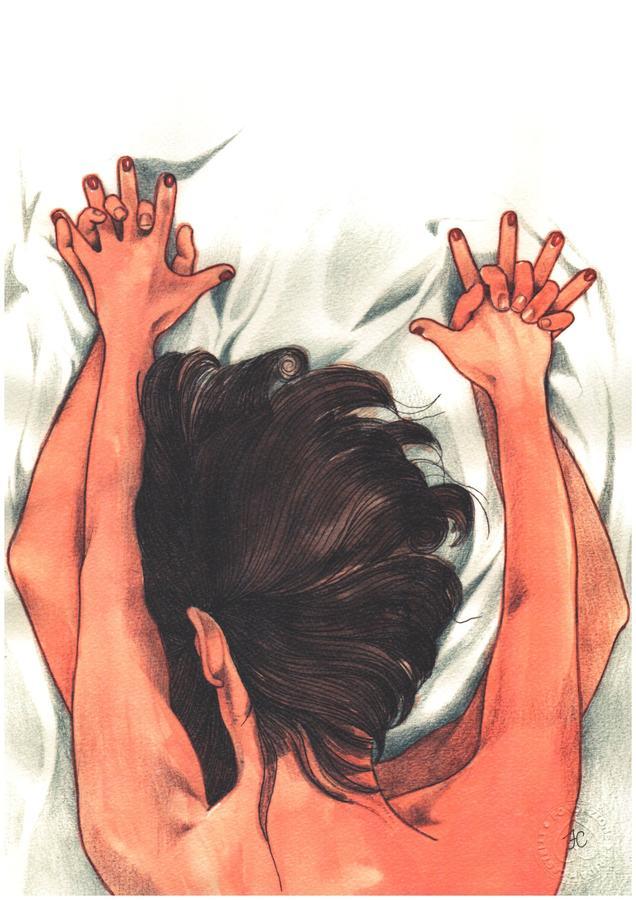 """Print """"Le nostre mani strette come i cardini di una porta socchiusa""""."""