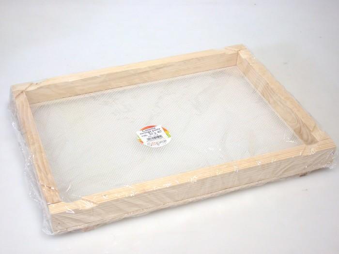 Cassetta in legno ASCIUGAPASTA cm 40X50 con rete alimentare