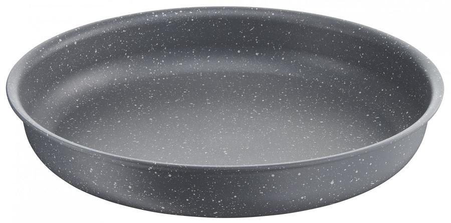 Lagostina Padella Antiaderente senza Manico Diametro 24 cm LINEA INGENIO ESSENTIAL Alluminio Antiaderente