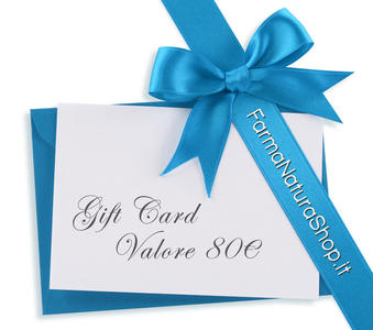 GIFT CARD - CARTA REGALO 80€