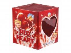 FUOCO D'ARTIFICIO BORGONOVO FONTANA RED HEART